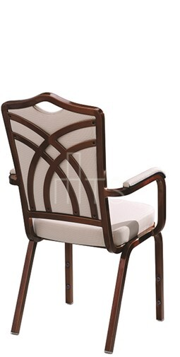 Como Stacking Chairs from MTS Burgess PC27/8ACR