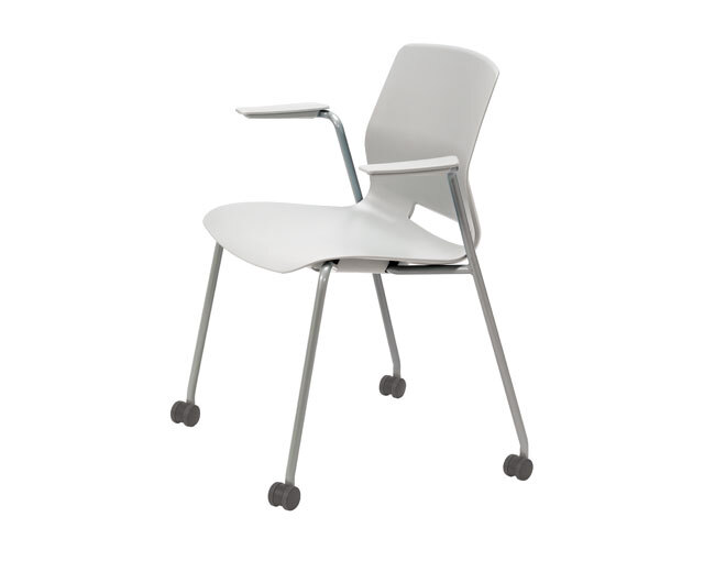 Imme Arm Chair with Caster Carousel Image