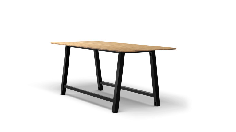 Colbe Bamboo Standing-Height Conference Table