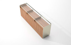 DECCA_MUSEUM� DOUBLE-SIDED CREDENZA1