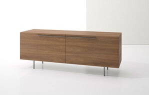 DECCA_INDEX R� CREDENZA METAL LEGS WITH TWO LARGE DRAWERS1