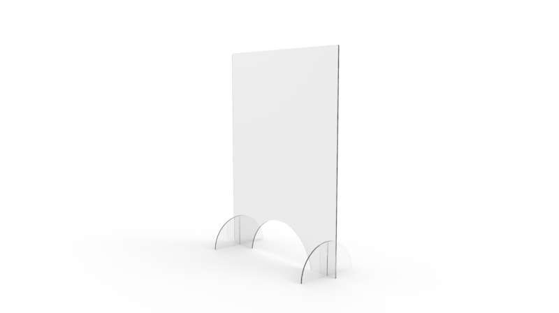 All-Clear Protective Screen - Horizontal