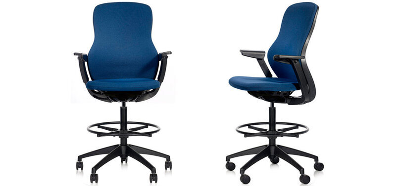 ReGeneration by Knoll® High Task Chair - Fully Upholstered