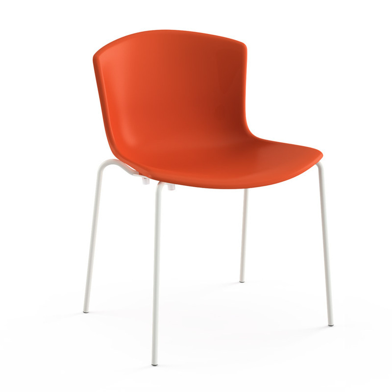 Bertoia Molded Shell Side Chair - Stacking