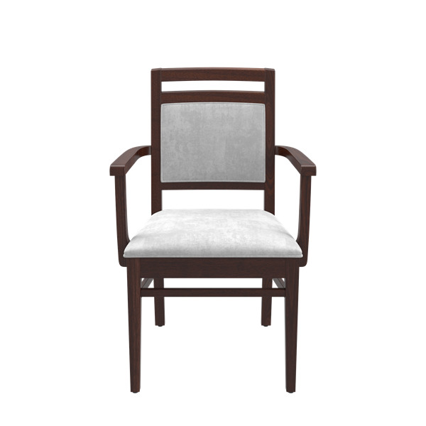 Blaine Low Back Arm Chair With Clean Out