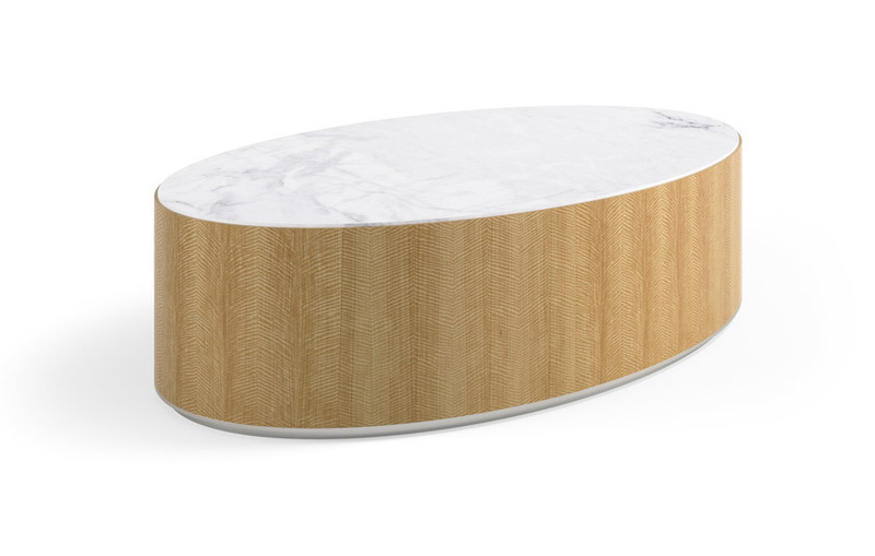 Dialogue Oval Cocktail Table