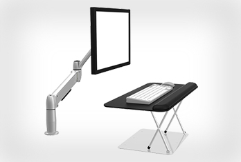 SIT-STAND MONITOR SOLUTION