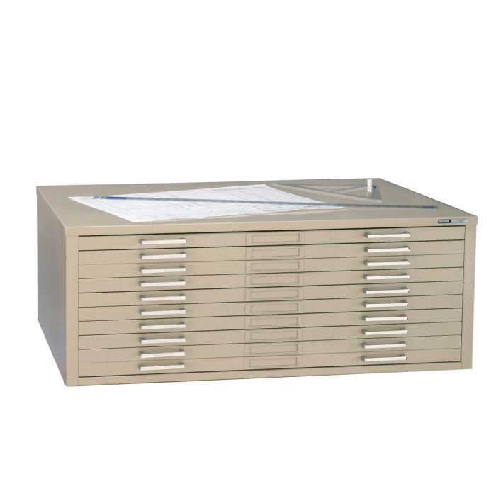 """Ten Drawer File for 24x36"""" Sheets"""