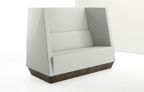 caid-high-back-love-seat-plinth-base-front