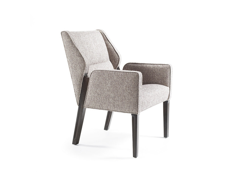 Jett Arm Chair with Wood Legs