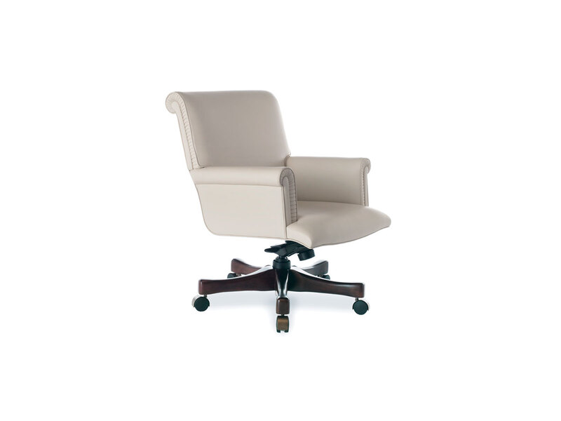 Spire Swivel Chair with Mid Back