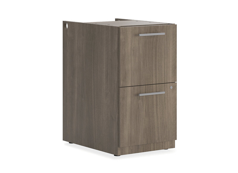 """Concinnity Storage Pedestal   2 File Drawers   15-3/4""""W"""