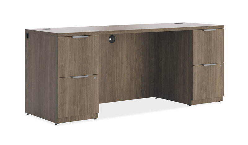 Concinnity Credenza with Kneespace