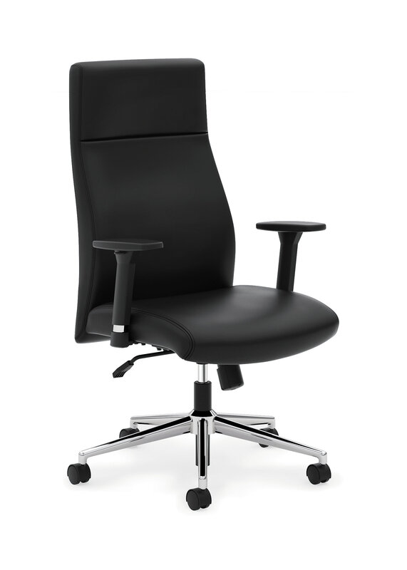 Define Executive High-Back Chair with SofThread Leather