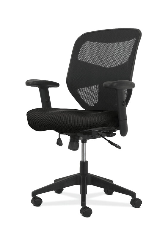 Prominent High-Back Task Chair | Synchro-Tilt Control with Seat Slide