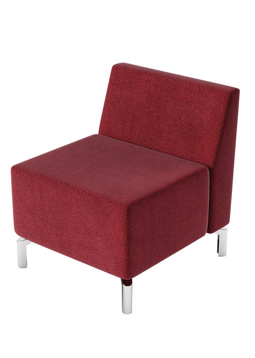Jefferson Lounge Series - Straight Chair and Back