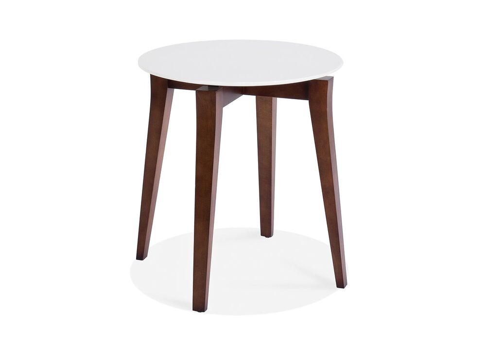 STAND ROUND END TABLE MAPLE TOP