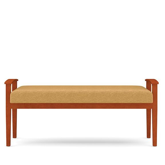 Amherst Wood 2 Seat Bench