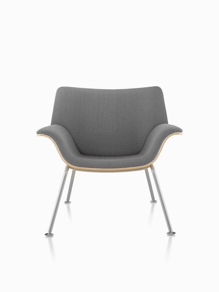 Swoop Plywood Lounge Chair and Ottoman