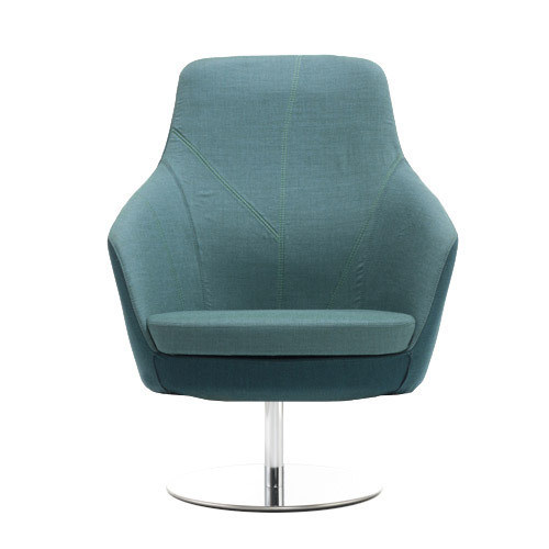 Folha Lounge Plus with Stainless Steel Swivel Base