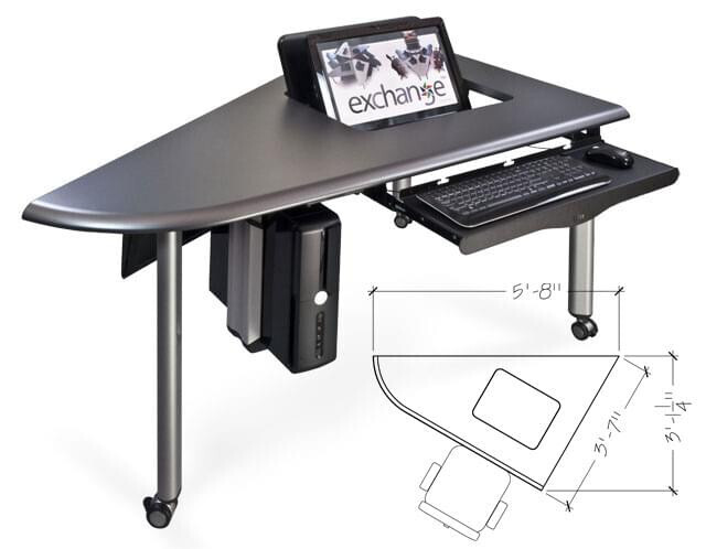 Exchange Active Learning Classroom Technology Furniture Carousel Image