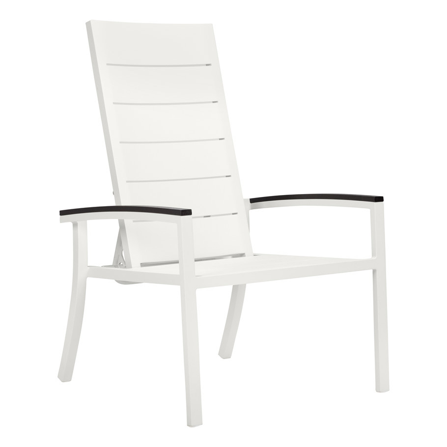 DUO STACKABLE RECLINING LOUNGE CHAIR