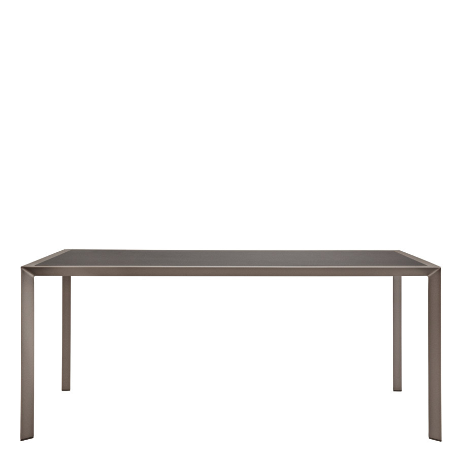 TRIG CERAMIC TOP DINING TABLE RECTANGLE 180