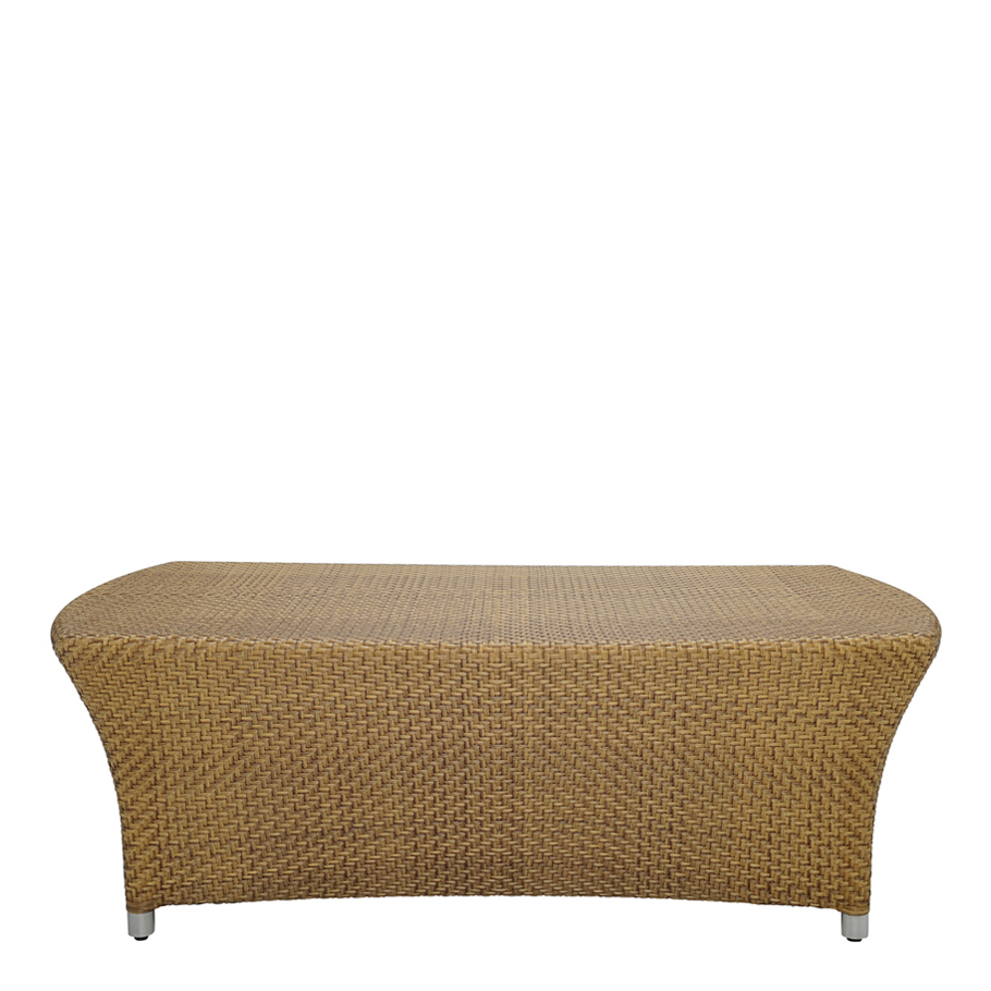 AMARI FULLY WOVEN COCKTAIL TABLE RECTANGLE 120