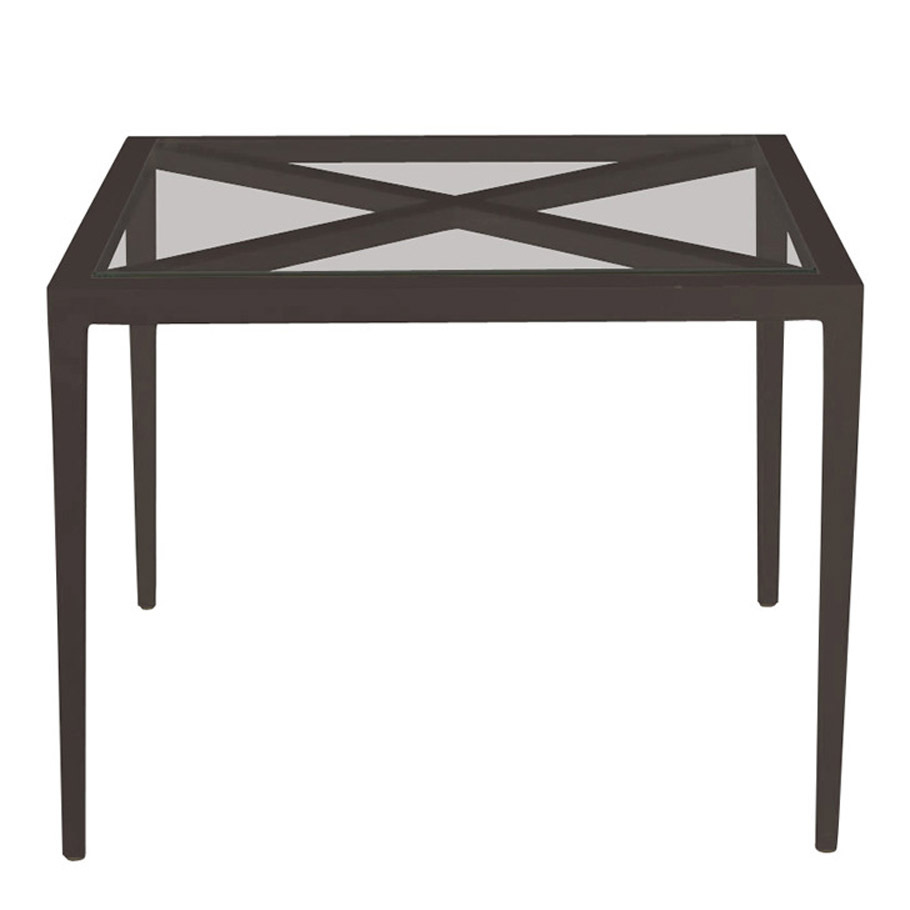 AZIMUTH CROSS COCKTAIL TABLE SQUARE 61