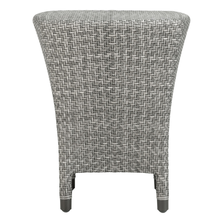 AMARI FULLY WOVEN SIDE TABLE SQUARE 45