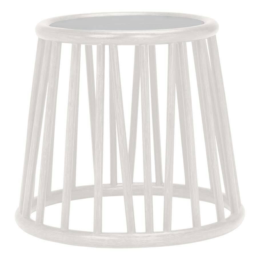 KYOTO RATTAN SIDE TABLE ROUND 51