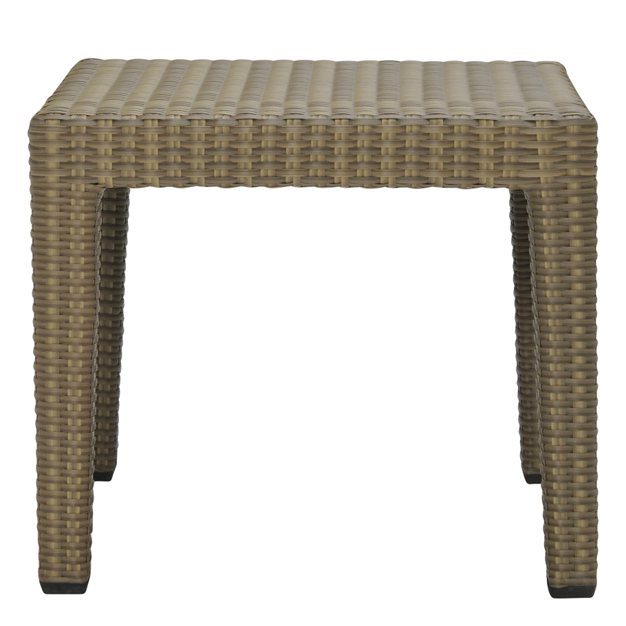 QUINTA FULLY WOVEN SIDE TABLE SQUARE 45