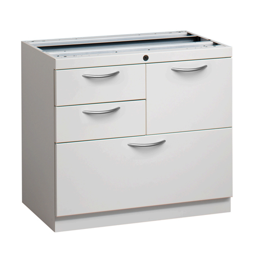 Work Surface Supporting Multi-Drawer Filecenter