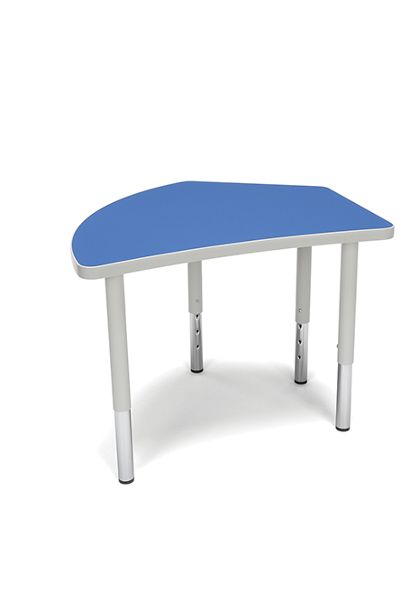 Model CREST-SL Adapt Series 30.75″ W x 25.75″ D Student 18″-26″ Height Crest Table