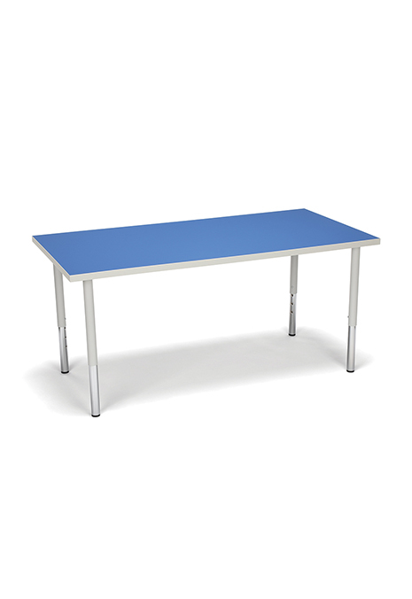 Model RECT-LL Adapt Series 60″ W x 30″ D Standard 23″-31″ Height Rectangle Table