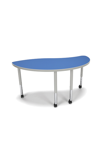 Model YING-SLC Adapt Series 54″ W x 30″ D Student 20″-28″ Height Ying Table with Casters