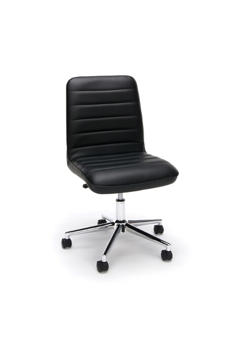 Model ESS-2080 Essentials Collection Leather Mid Back Chair