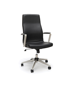 Model 567 High Back Leather Manager Chair
