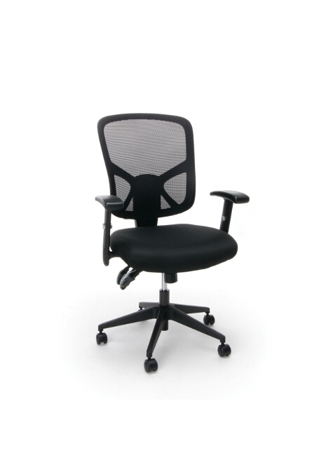 Model ESS-3050 Essentials Collection 3-Paddle Ergonomic High-Back Mesh Chair with Arms