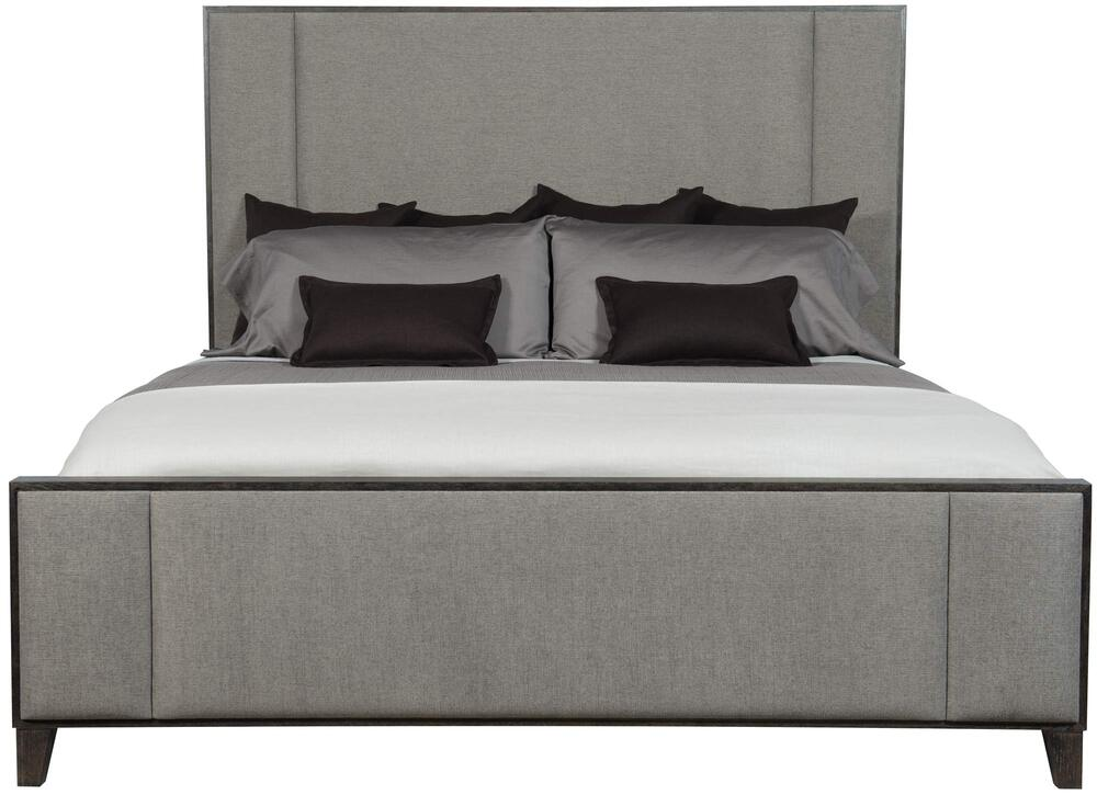 Linea Upholstered Panel Bed