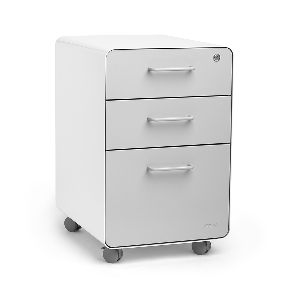 Stow 3 Drawer File Cabinet