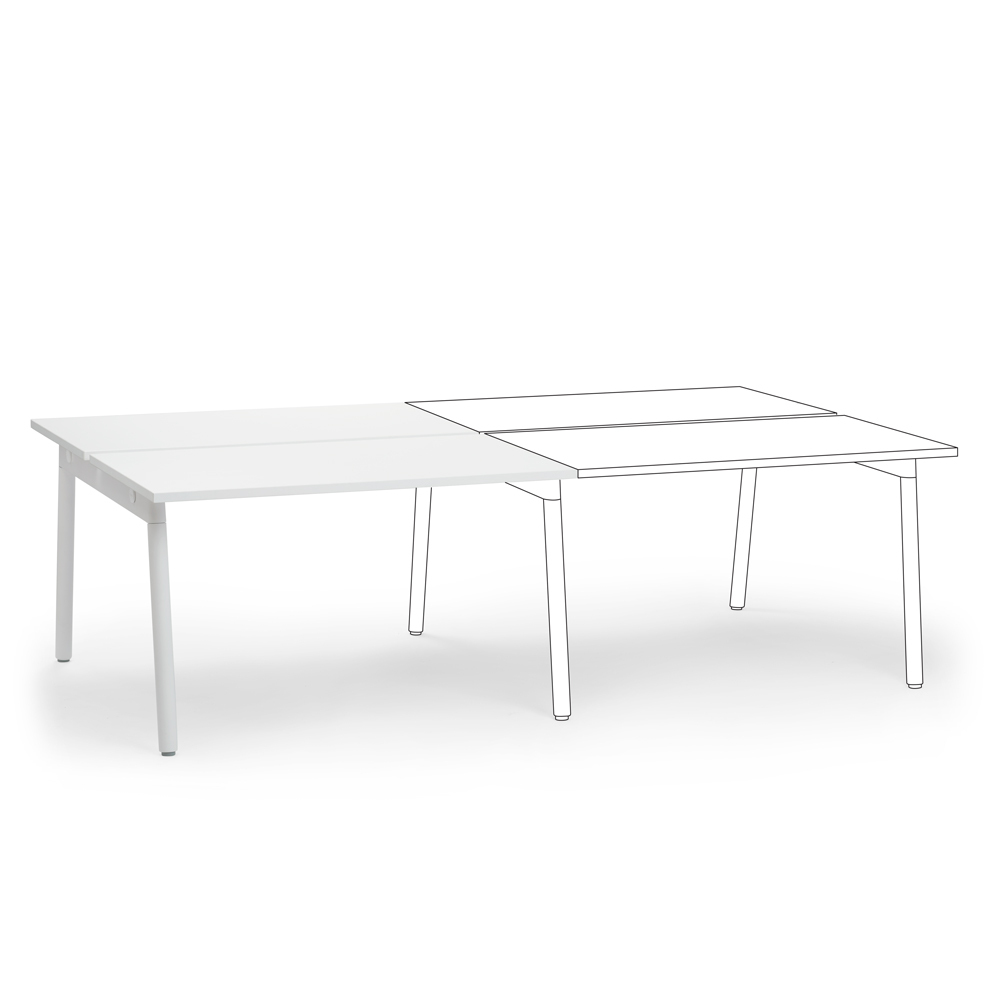 Series A Double Desk Add On