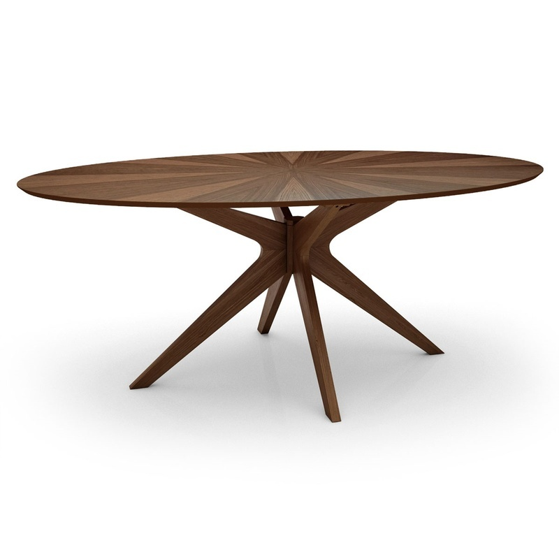 Starburst Oval Dining Table
