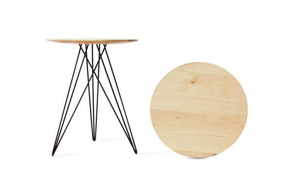 Hudson Side Table - Maple w/o Inlay