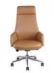 635D_Front_Brown_Tan_Office_Chair