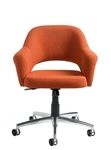 1100_Front_Orange_Office_Chair