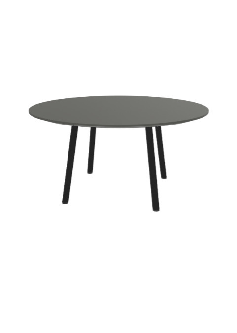 """Exchange Table with Round Earth - 36""""w"""